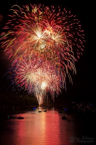 July 3 Fireworks over Norfork Lake